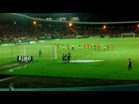 """""""Gooool del Deportes Quindio"""" Barra: Artillería Verde Sur • Club: Deportes Quindío"""