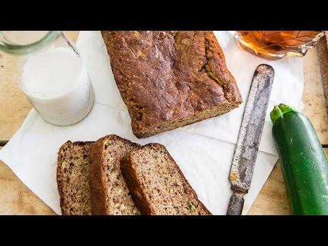 Video Paleo Almond Zucchini Bread