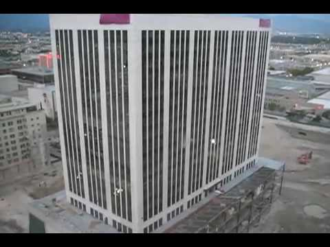Key Bank Building Implosion - Salt Lake City