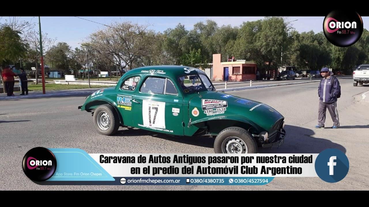Chepes: Caravana de Autos Antiguos pasaron por nuestra ciudad.