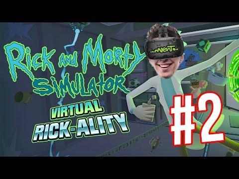 DOSTAL JSEM SE DO DALŠÍ DIMENZE! | Rick and Morty: Virtual Rick-ality #2