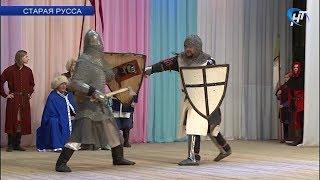 В Старой Руссе прошел фестиваль клубов исторического фехтования «Совесть, благородство и достоинство»