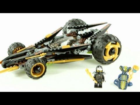 Vidéo LEGO Ninjago 9444 : L'aérobolide de Cole