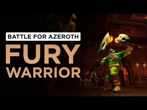 Fury Warrior | WoW: Battle for Azeroth - Alpha [1st Pass]
