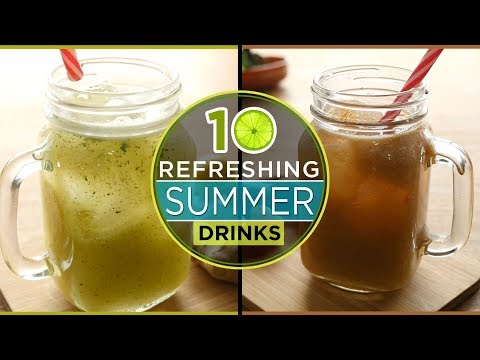 Top 10 unforgetable Summer Drink Recipes by Food Fusion ( Iftar Drinks Recipes )