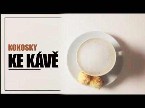 Pečené kokosky ke kávě - rychlé videorecepty