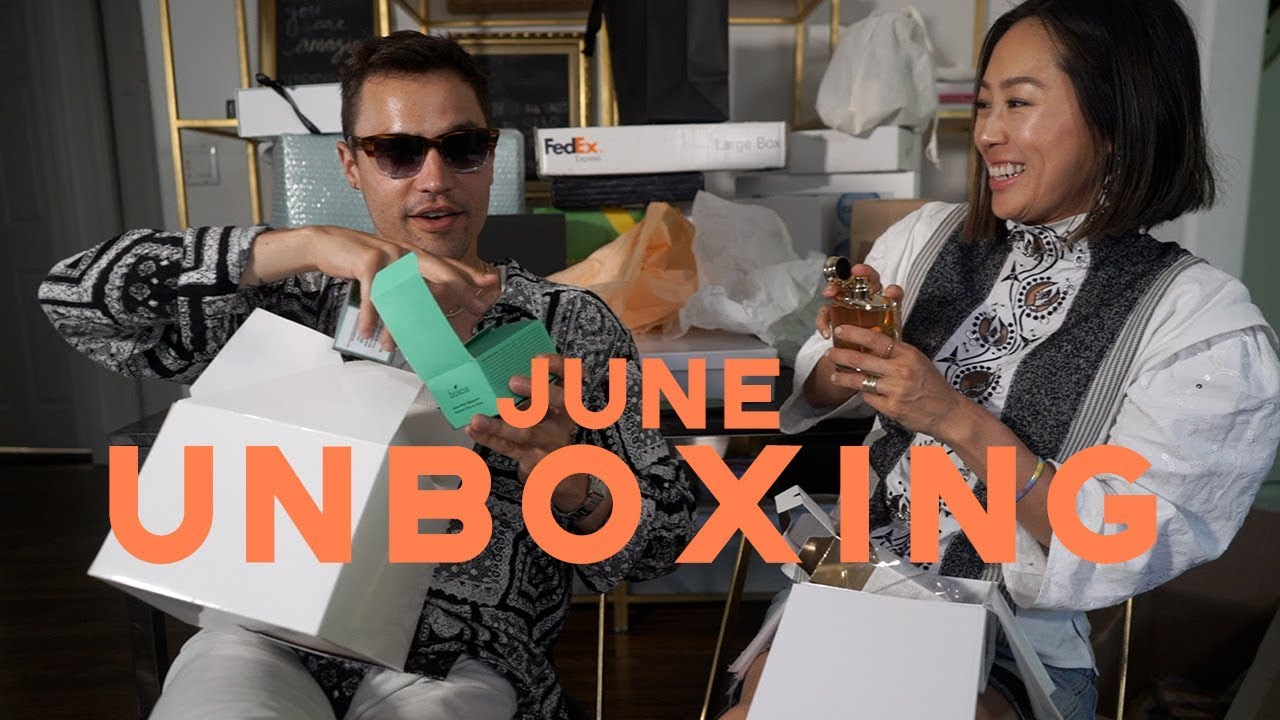 June Unboxing with my Best Friend - SAVAGE X FENTY Lingerie, Eggie & More | Aimee Song