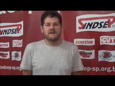 Sérgio Antiqueira parabeniza Sindsep pelos seus 27 anos