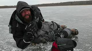 Searching For Panfish (Early Ice)
