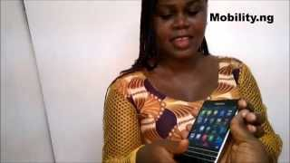 preview picture of video 'MobiLaffs Video: Bimbola meets the BlackBerry Passport'