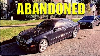 Getting My ABANDONED Turbo Diesel Mercedes Started! New Fuel System, AMG Body Kit & Mystery Car!