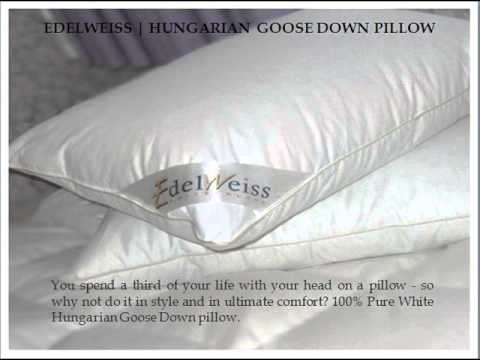 Edleweiss Goose Down Duvet And Pillows