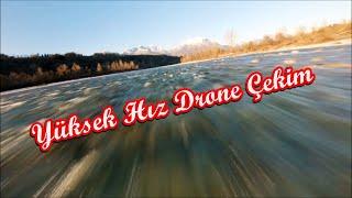 Yüksek Hız Drone Çekim Harika - Drone Video Süper Hız - Drone Videos Turkey - Drone Racing - Speed