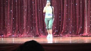 Cheryl Khurana performs Hip Hop