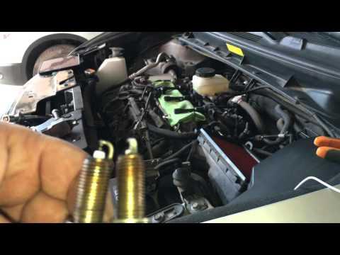 Замена свечей на Nissan Murano Z51 2020 (4K UHD)