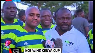 Scoreline: KCB wins Kenya Cup against Kabras sugar rugby club
