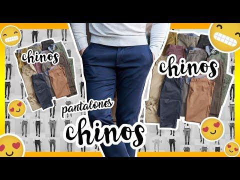Todo sobre los pantalones CHINOS - Hussito