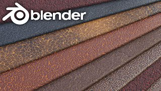 Blender - Leather Shader In Blender 2.8