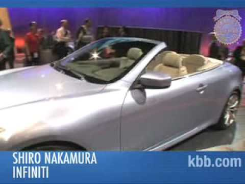 2009 Infiniti G37 Convertible Auto Show Video - Kelley Blue Book