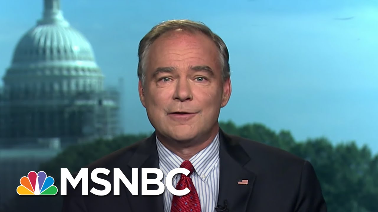 Senator Tim Kaine On Being Vetted For Hillary Clinton's Vice Presidential Pick | MTP Daily | MSNBC thumbnail