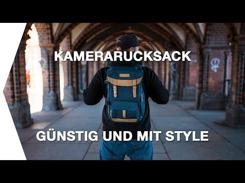 Günstiger Kamerarucksack mit Style I K&F Fashion Backpack