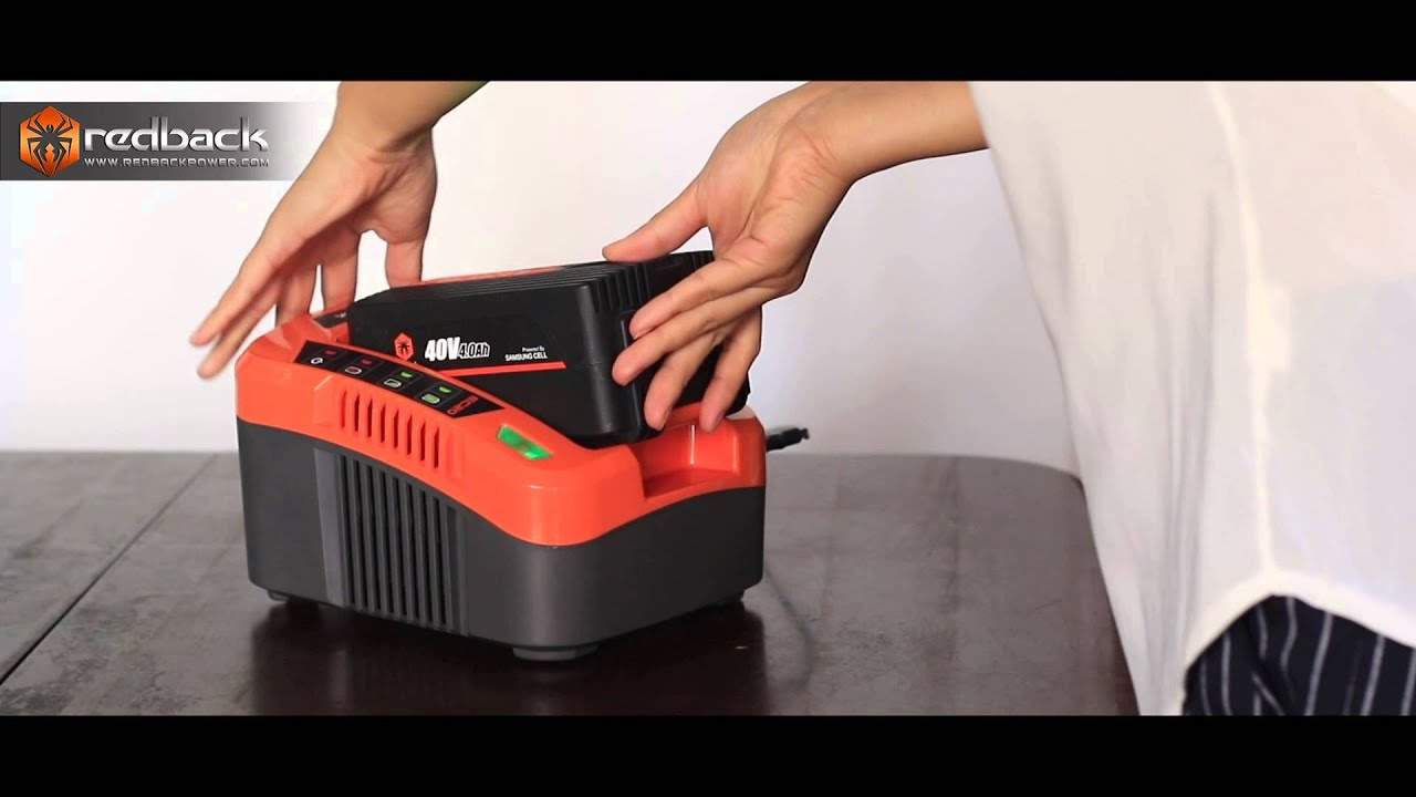 40V Cordless Battery and Charger