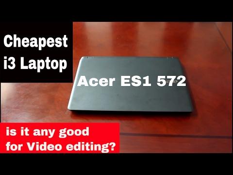 acer aspire ES1-572 | Cheapest i3 laptop