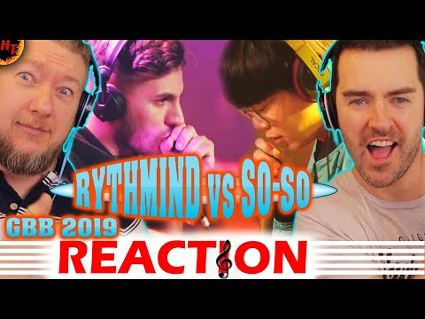 RYTHMIND vs SO-SO: Beatbox Battle REACTION 2019 - LOOPSTATION Semi Final ( GBB )