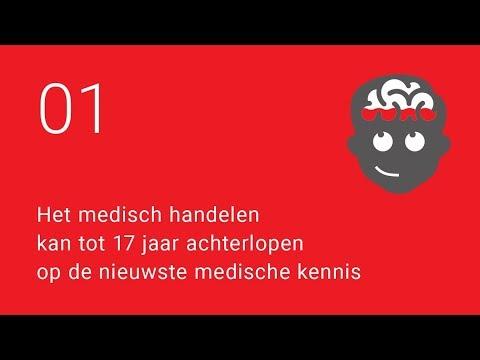 1 Het medisch handelen kan tot 17 jaar achterlopen op de nieuwste medische kennis