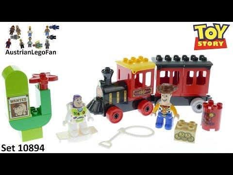 Vidéo LEGO Duplo 10894 : Le train de Toy Story