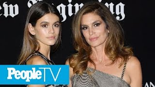 Kaia Gerber Channels Mom Cindy Crawford While Celebrating Her 18th Birthday In N.Y.C. | PeopleTV