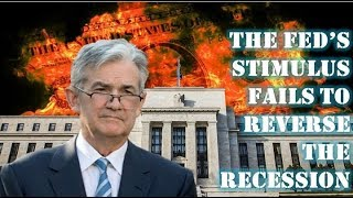 URGENT! What Happens When The Fed's Stimulus Fails To Reverse The Recession