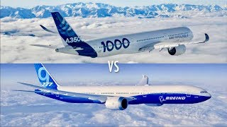 Airbus A350-1000XWB vs Boeing 777-9: Which Large Widebody Twin is Best?