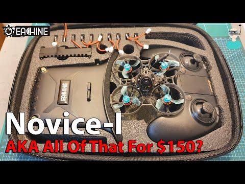 Eachine Novice One RTF Kit - Review, Setup & Flight Footage
