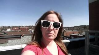 Taking In Some Rays On The Roof!