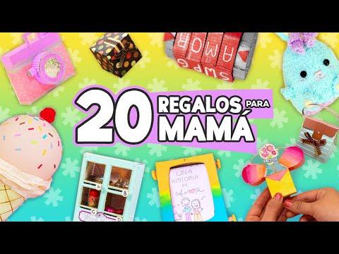 20 REGALOS FÁCILES PARA MAMÁ 🌸 Manualidades sencillas ✂️ Craftingeek