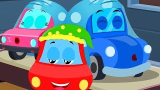 Wee Willie Winkie | Little Red Car | Songs For Kids | Fun Video song