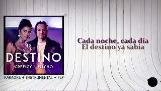 Destino Greeicy Nacho Karaoke