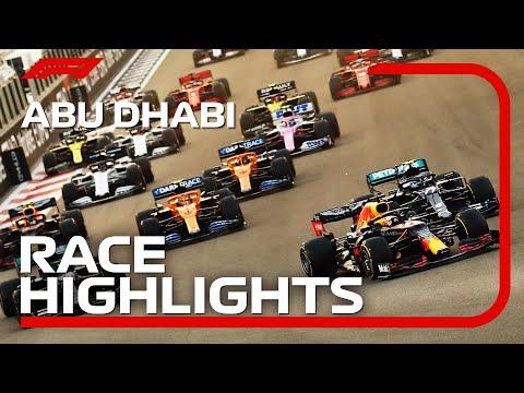 マックス・フェルスタッペンがポール・トゥ・ウイン F1 第17戦アブダビGP 決勝ハイライト動画