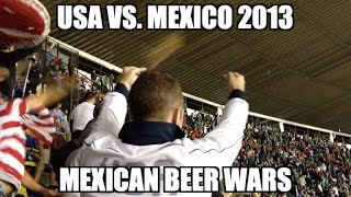 USA vs. Mexico 2013 WCQ - Game Over at Azteca (Beer Showers)