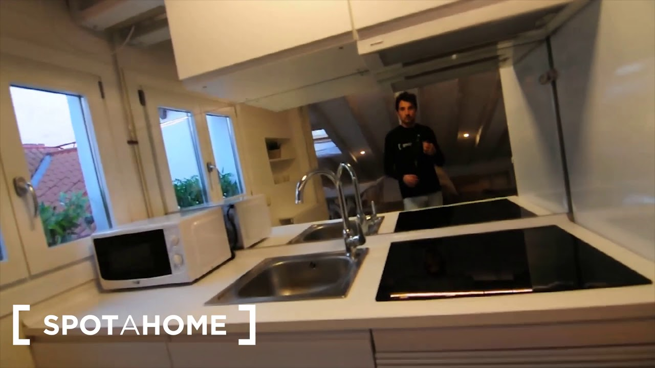 Quirky studio apartment for rent in La Latina