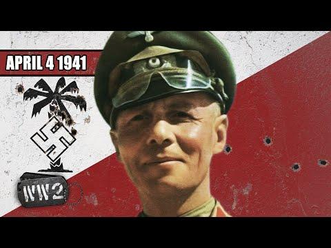 Rommel se řítí Afrikou a invaze na Balkán je na spadnutí - Druhá světová válka