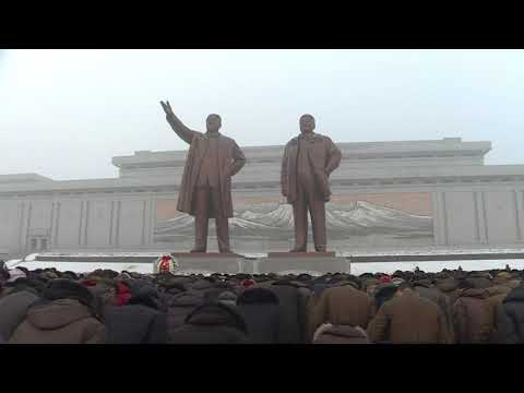 North Koreans mark anniversary of death of Kim Jong-il