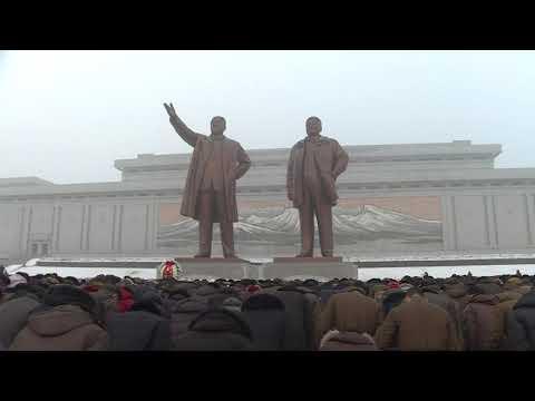 North Koreans mark anniversary of death of Kim Jong-il
