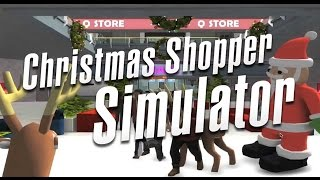 lets play christmas shopping simulator 2 black friday edition