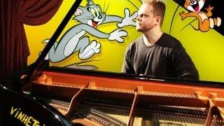 Tom and Jerry Musics on piano - 7 soundtracks show