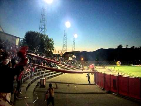 """Noche Roja 2012. La Famosa Banda Cementera !"" Barra: La Banda Cementera • Club: Unión La Calera"