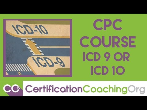 CPC Course ICD-9 or ICD-10 | Medical Coding Training Courses ...
