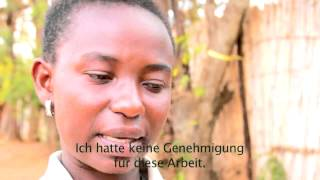 preview picture of video 'Leben statt Flucht - Scholar aus Tansania'
