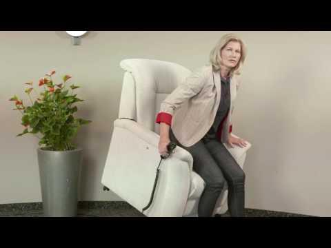 Der ARCO TV-Sessel mit Aufstehhilfe.  Gesund sitzen und leicht aufstehen beim Fernsehen.